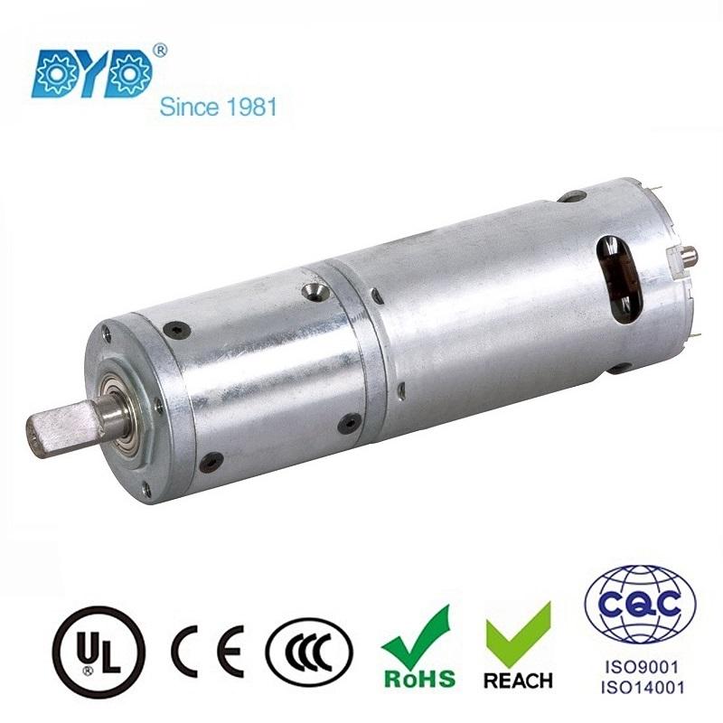Small ac dc motors gear motors dyd motor Dc planetary gear motor